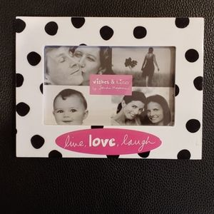 Polka Dot Picture Frame. Never used.